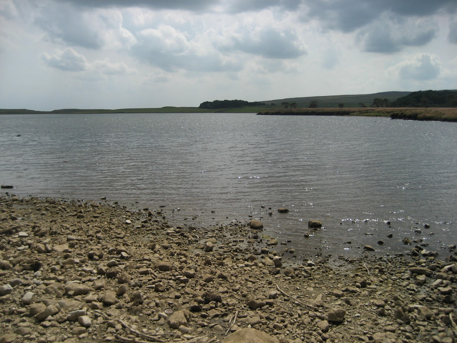 Malham Tarn – lying on a bed of slate brought to the surface by the North Craven Fault. Stephen Oldfield