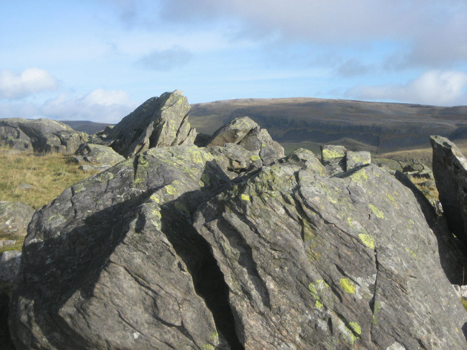 Silurian erratics at Norber above Austwick. Stephen Oldfield