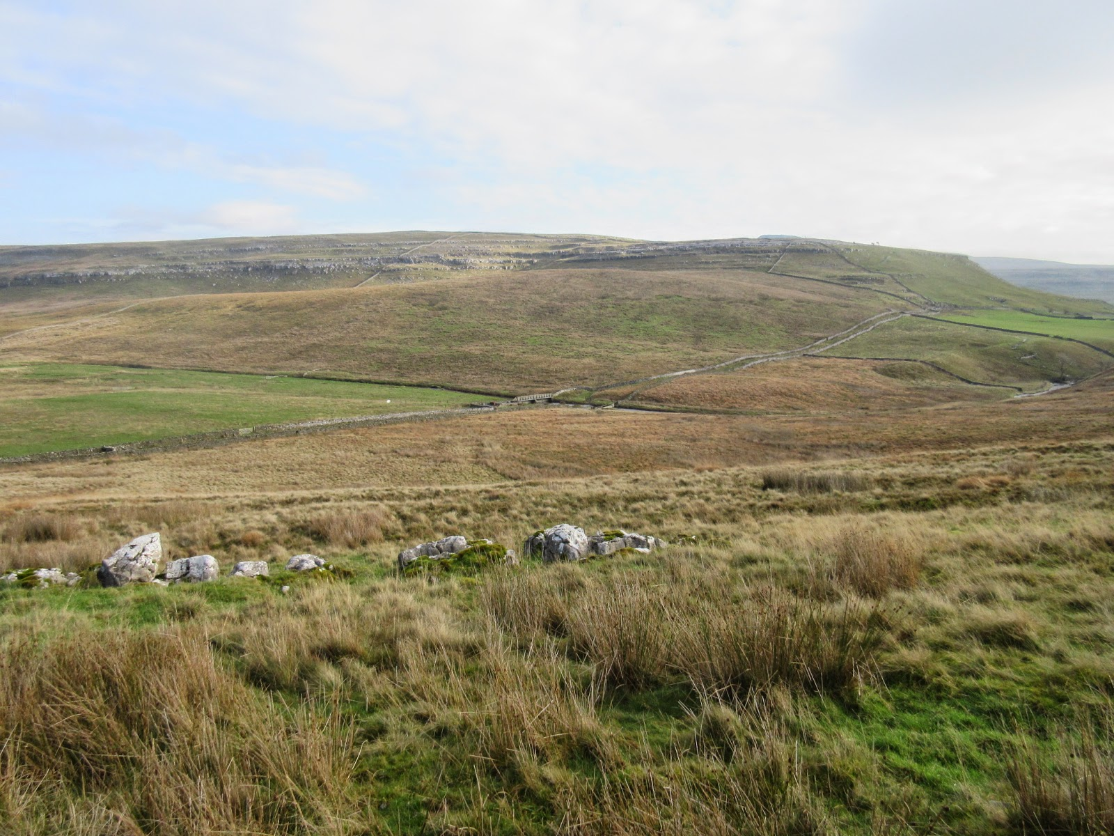 The lateral moraine making up Wackenburgh Hill in Kingsdale. Stephen Oldfield
